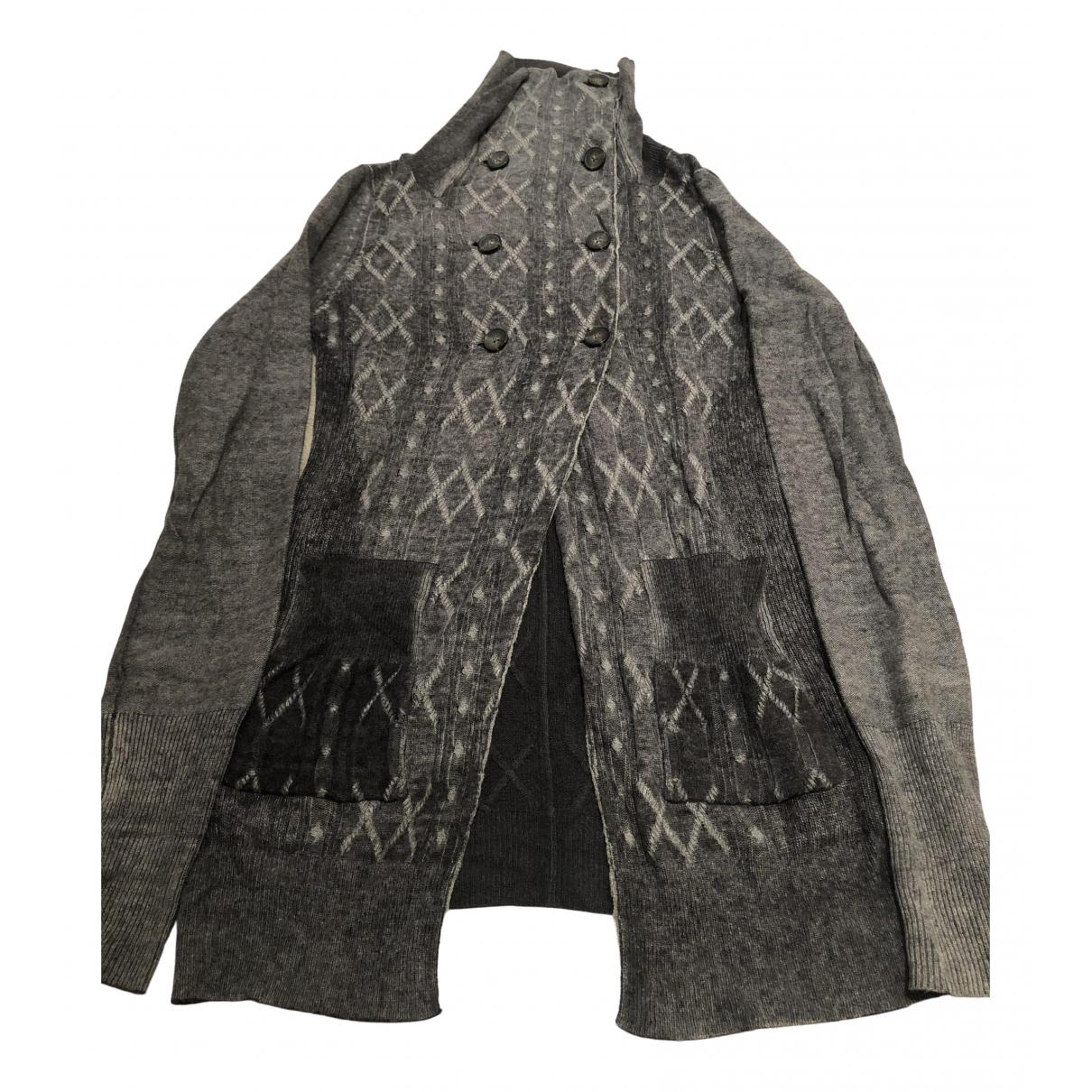 All Saints \N Grey Wool Knitwear for Women 6 UK