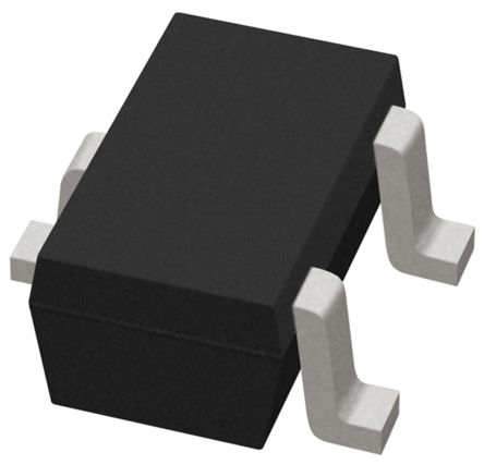 STMicroelectronics ESDCAN03-2BWY, Dual-Element Bi-Directional TVS Diode, 250W, 3-Pin SOT-323 (50)