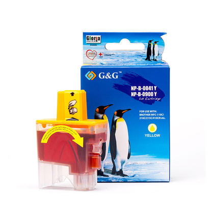 Brother LC41Y cartouche d'encre compatible jaune - G&G™