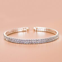 Rhinestone Decor Bracelet