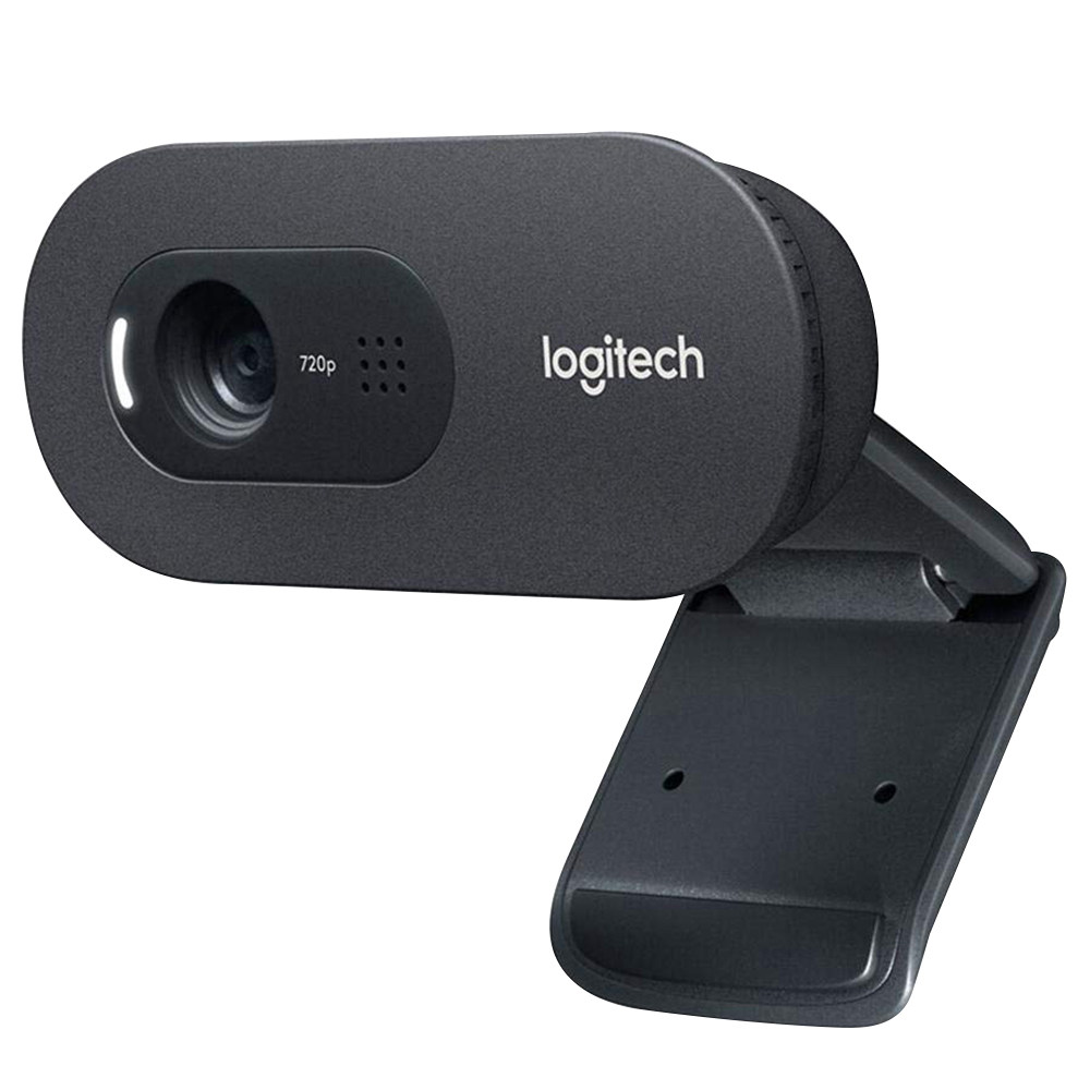 Logitech C270i HD 720p Webcam Built-in Microphone Fixed Focus Web Camera For PC Support Windows MAC Android - Black