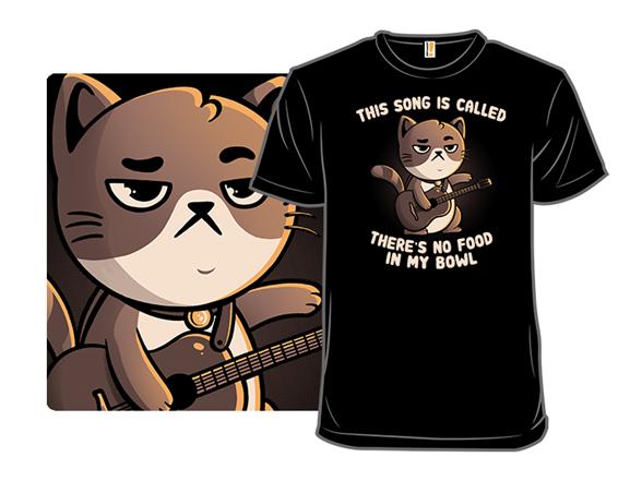 Cat Song T Shirt