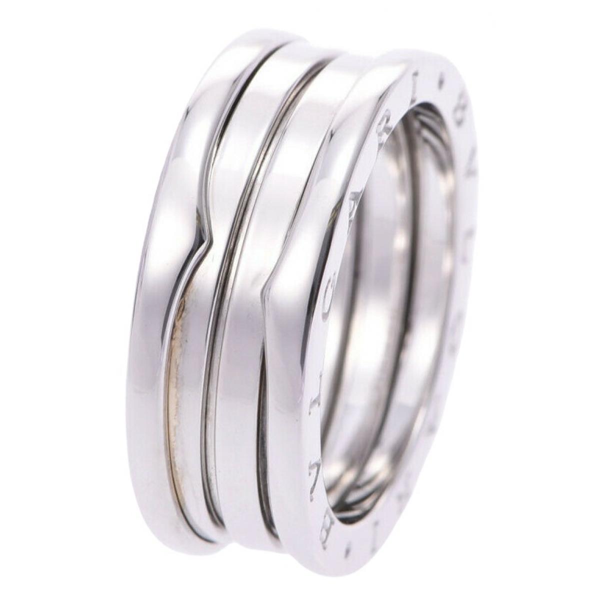 Bvlgari B.Zero1 Silver White gold ring for Women 9 ½