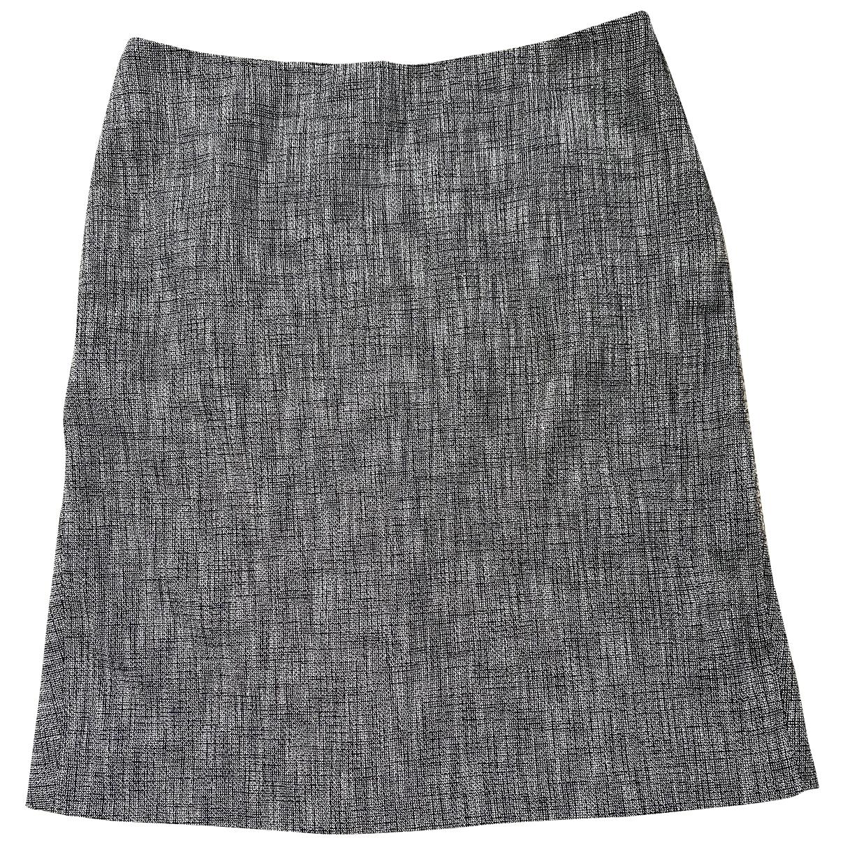 Agnès B. \N Grey Cotton skirt for Women 12 UK