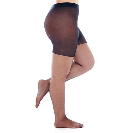 Berkshire Shimmers Control Top Pantyhose, 2+ , Black