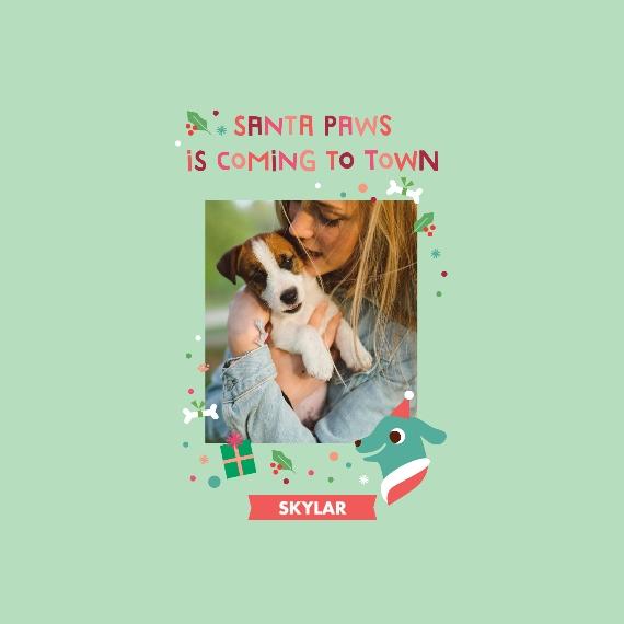 Pet Canvas Print, 12x12, Home Décor -My Little Angel Baby