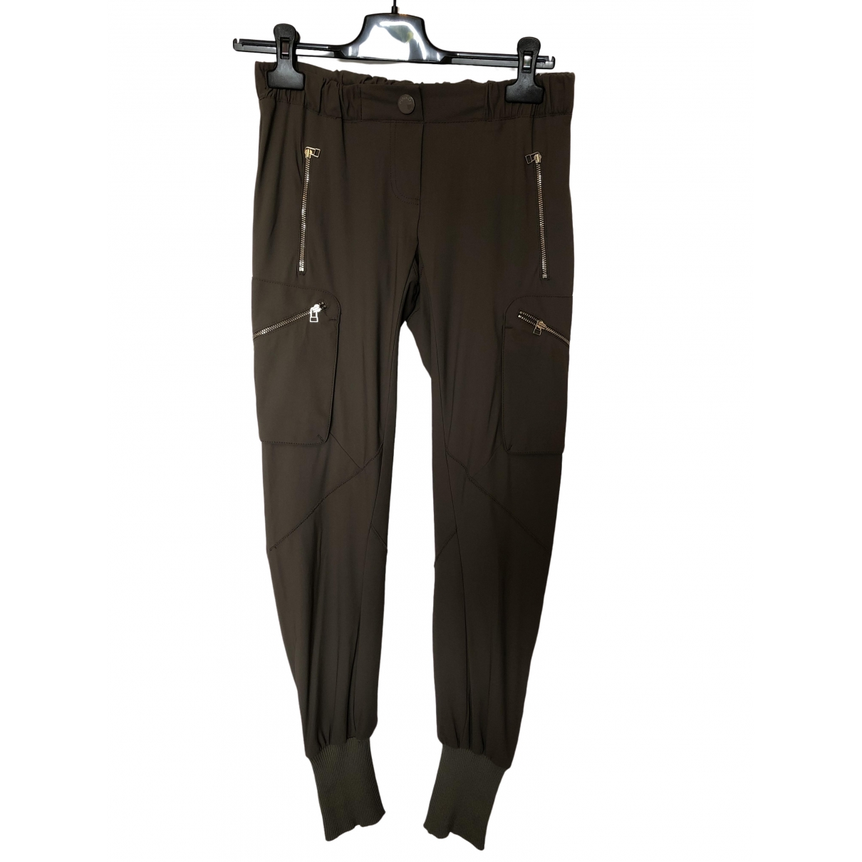 Pinko \N Green Trousers for Women 40 IT