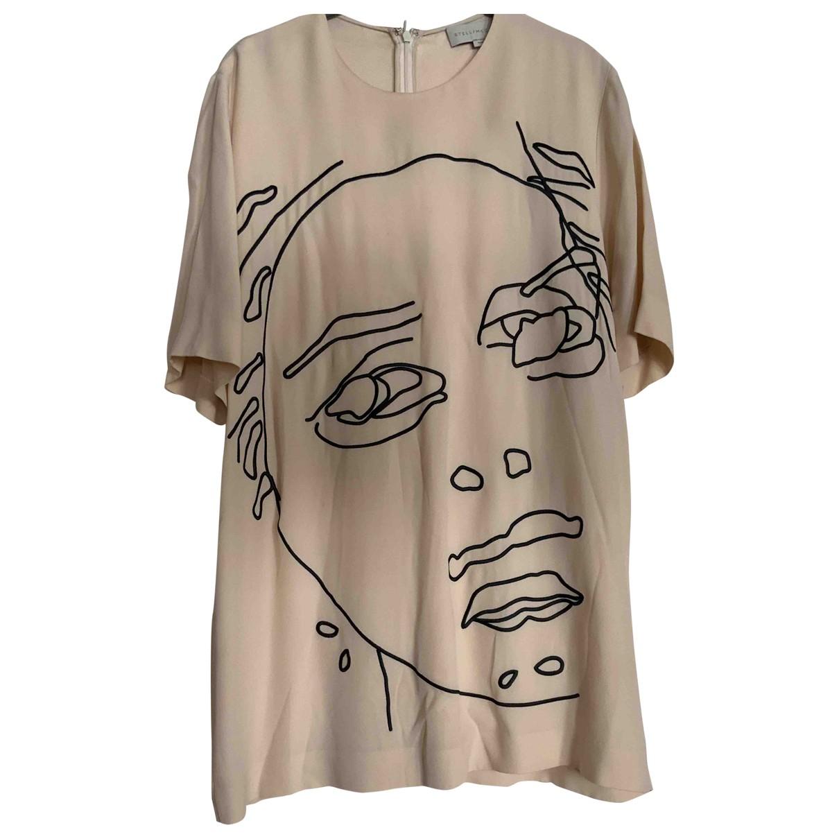 Stella Mccartney \N Beige Silk  top for Women 44 IT