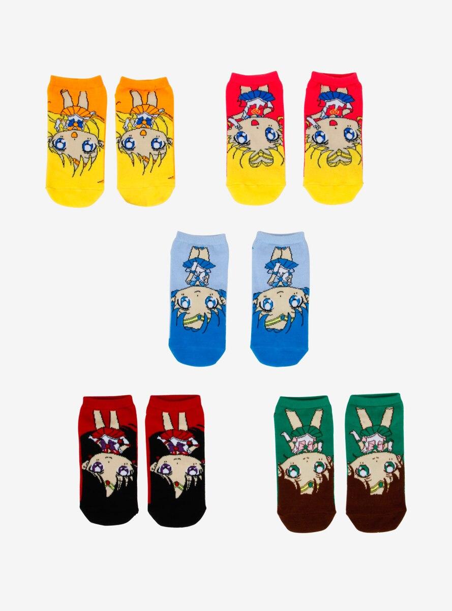 Sailor Moon Sailor Scouts Ankle Sock Set