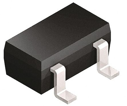 DiodesZetex Diodes Inc, 18V Zener Diode 5% 350 mW SMT 3-Pin SOT-23 (200)