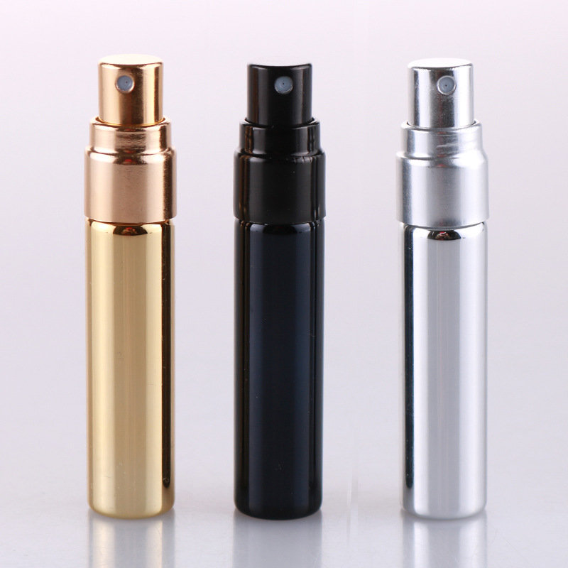 5ML Refillable Bottle Aluminum Spray Bottle Empty Perfume Bottle Portable Mini Travel Size