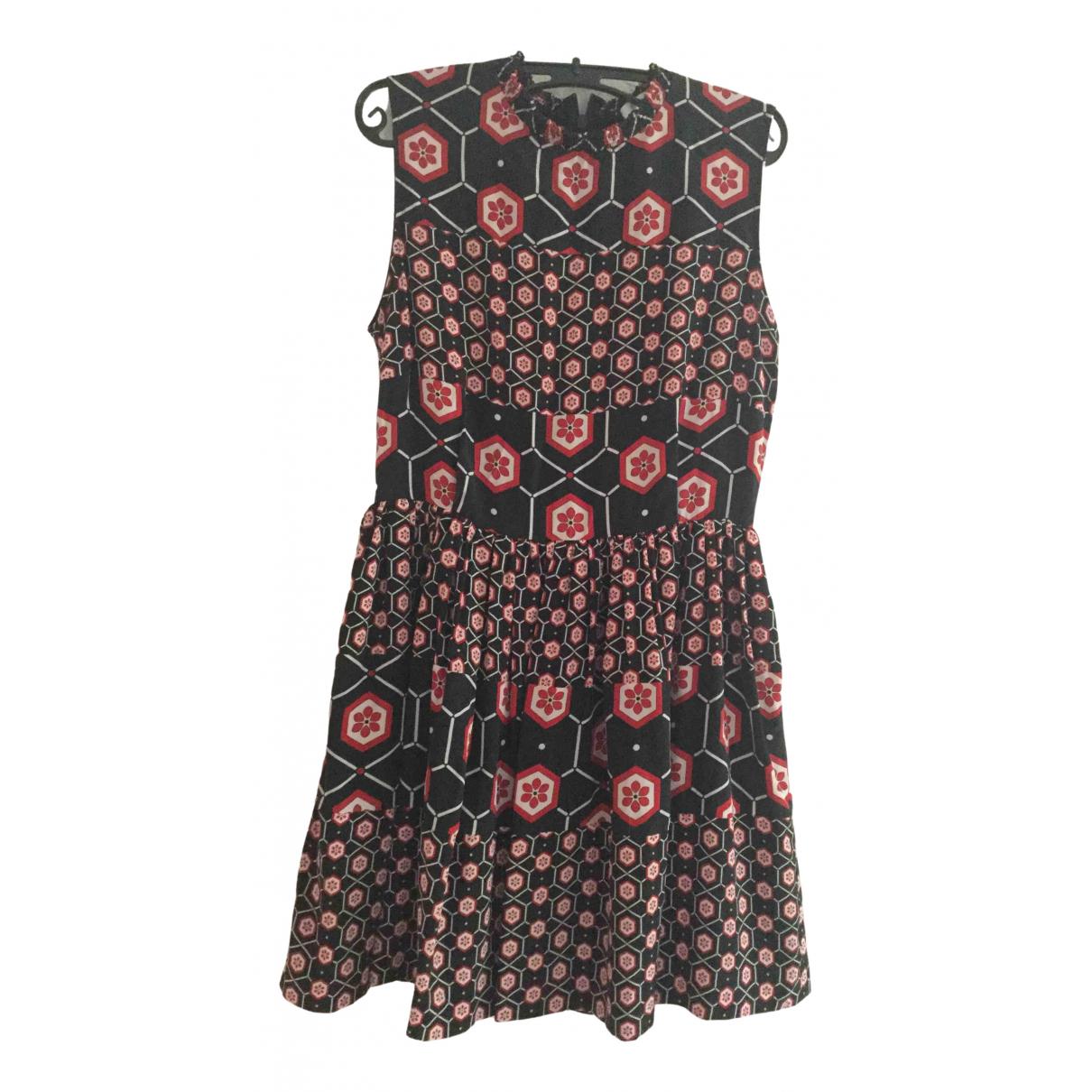 Sandro \N Multicolour Silk dress for Women 3 0-5