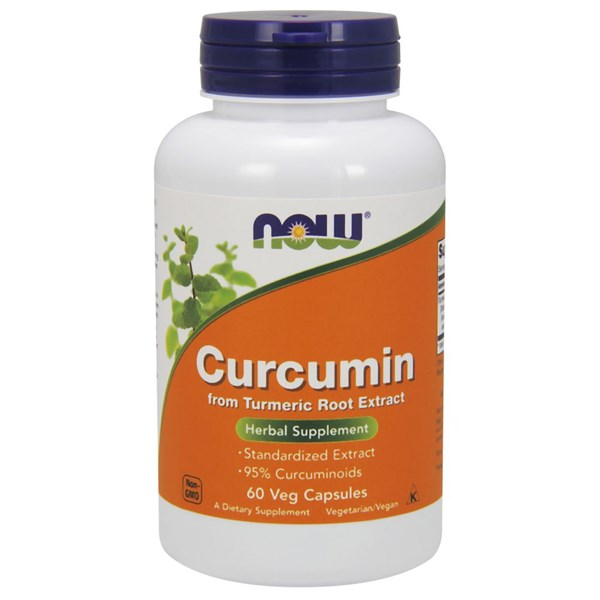 Curcumin Extract 60 Vcaps by Now Foods