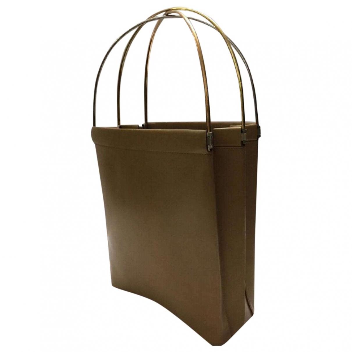 Cartier Trinity Brown Leather handbag for Women \N