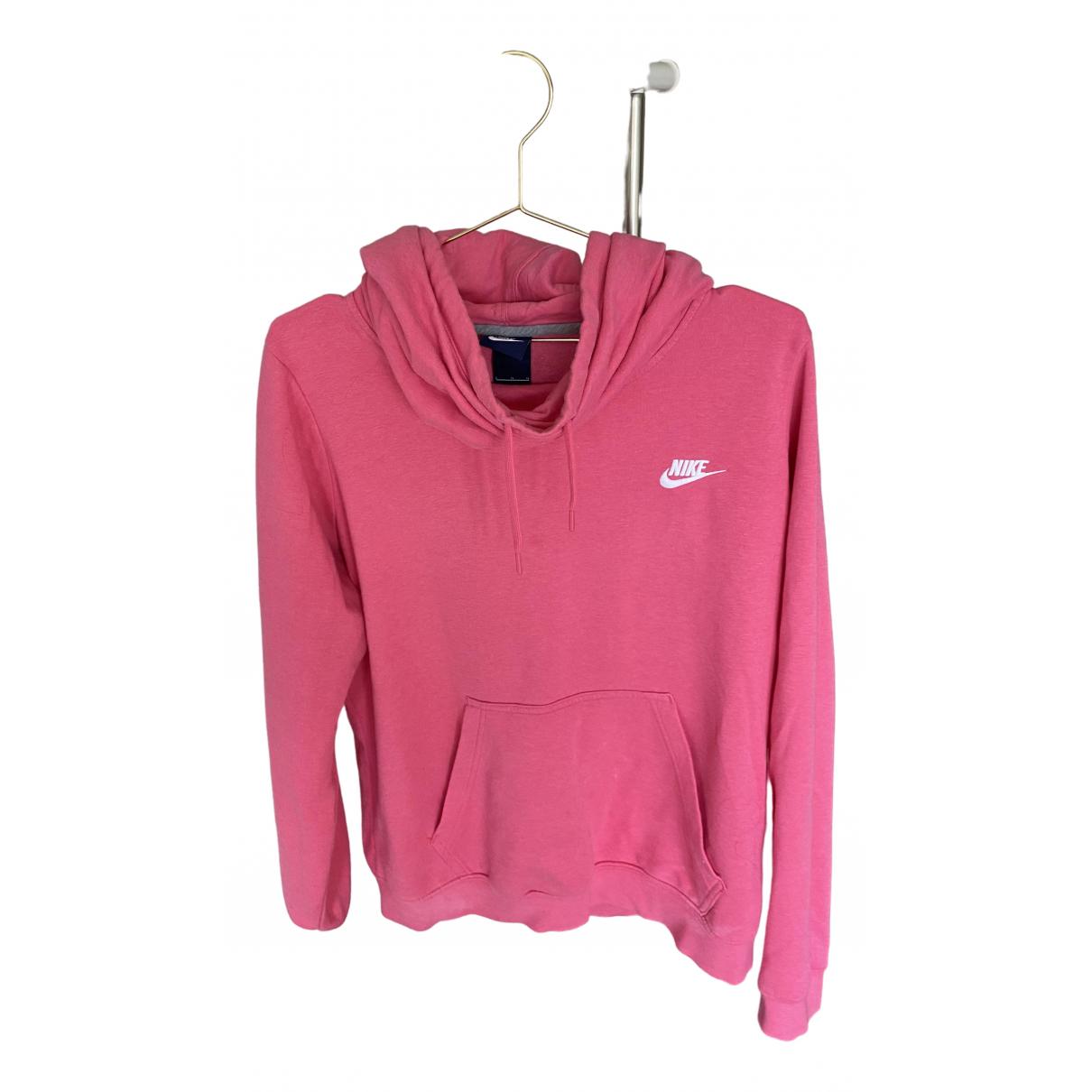 Nike \N Top in  Rosa Baumwolle