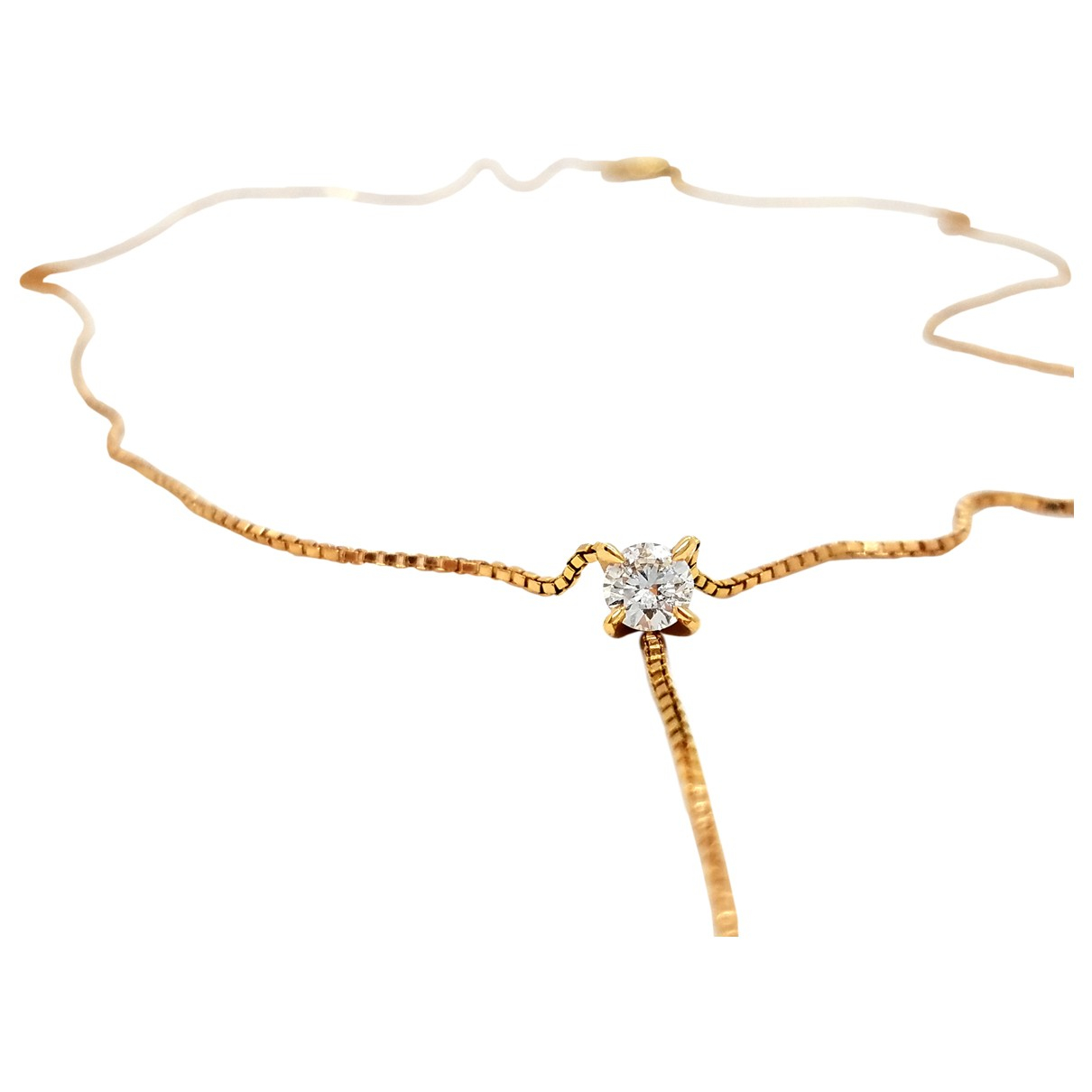 Autre Marque \N Pink Pink gold necklace for Women \N