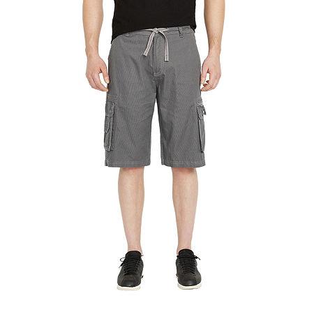 i jeans by Buffalo Mens Cargo Short, 36 , Gray