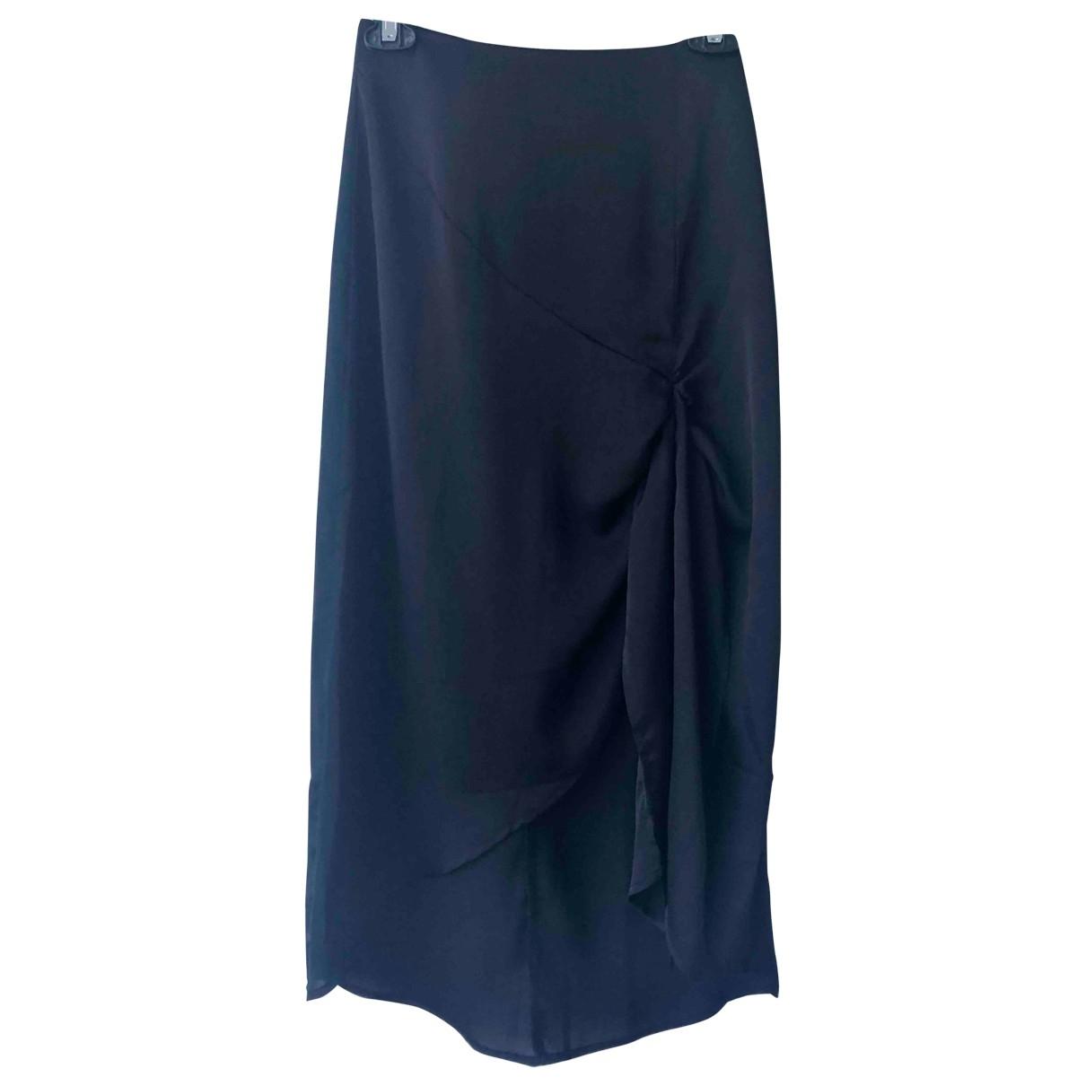 Non Signé / Unsigned \N Black skirt for Women XXS International