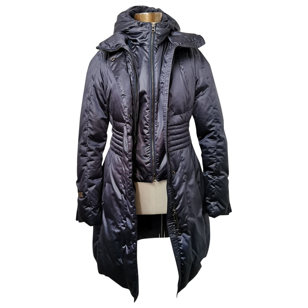 Sport Max \N Blue coat for Women 42 IT