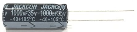 RS PRO 33μF Electrolytic Capacitor 400V dc, Through Hole (250)