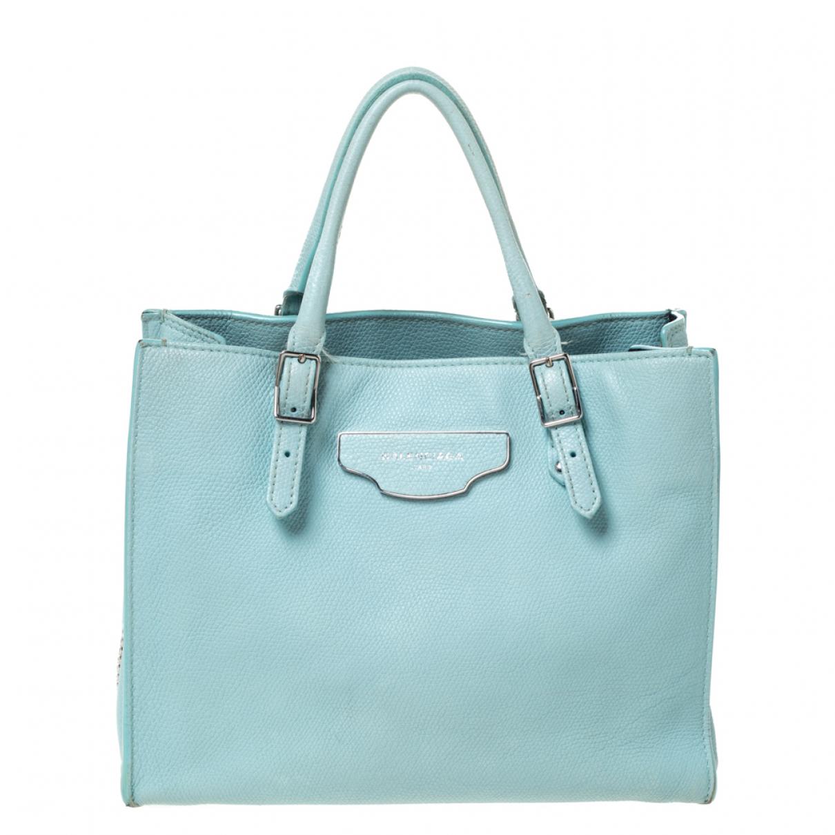 Balenciaga \N Green Leather handbag for Women \N
