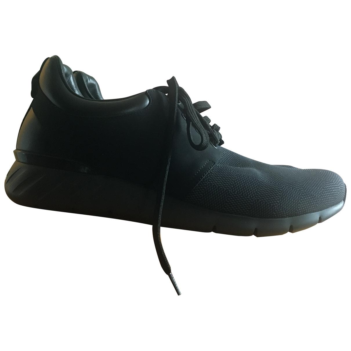 Louis Vuitton Fastlane Black Cloth Trainers for Men 8.5 UK