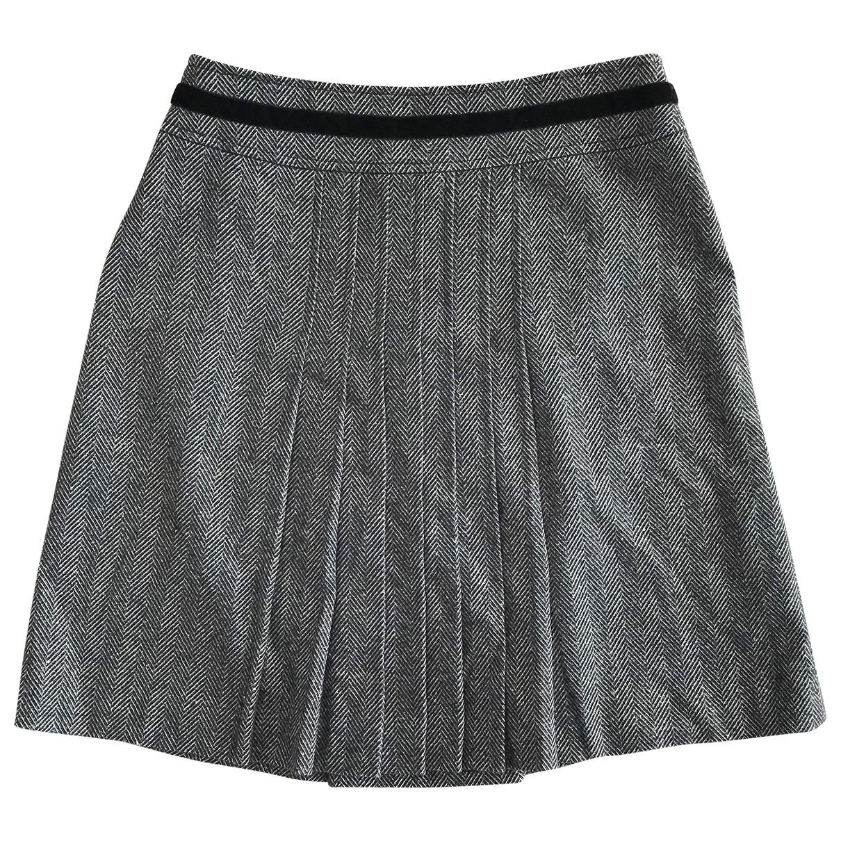Max & Co \N Black Wool skirt for Women 40 FR