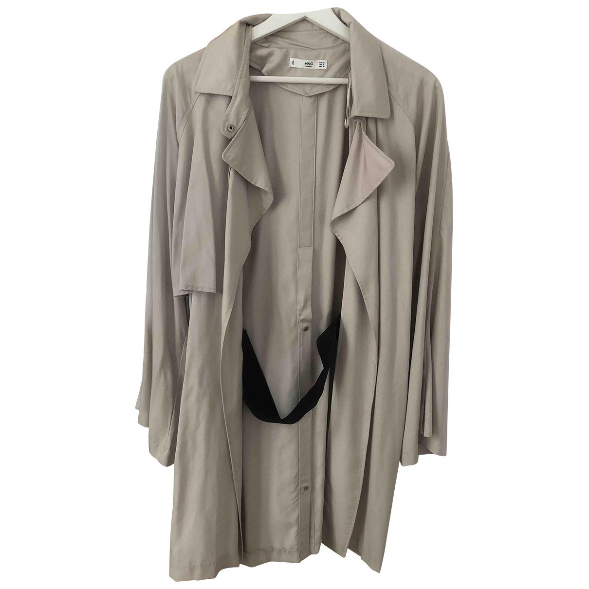 Mango \N Beige jacket for Women 38 FR