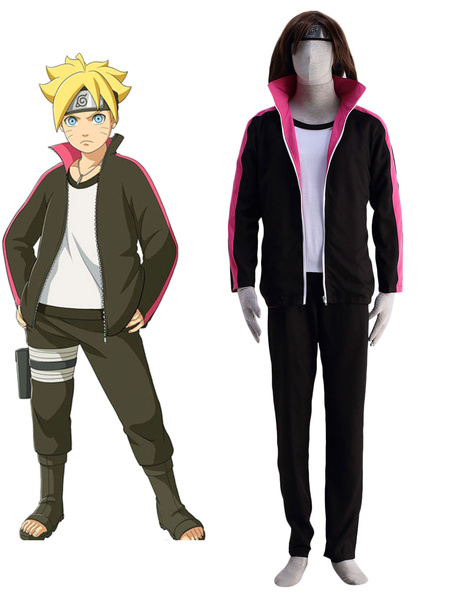 Milanoo BORUTO -NARUTO THE MOVIE- Boruto Cosplay Costume Halloween