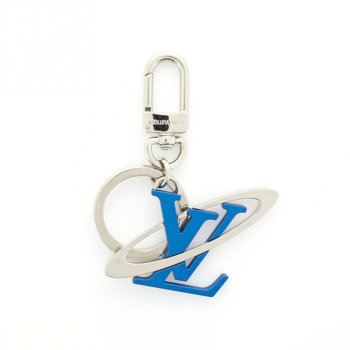 Louis Vuitton \N Blue Leather Bag charms for Women \N