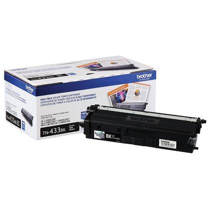 Brother TN433BK Original Black Toner Cartridge High Yield 4500 Pages