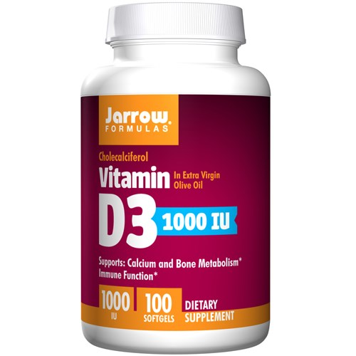 Vitamin D3 100 Sftgels by Jarrow Formulas