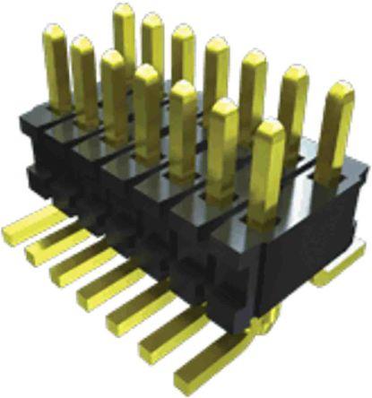 Samtec , FTR, 20 Way, 2 Row, Vertical Header (46)