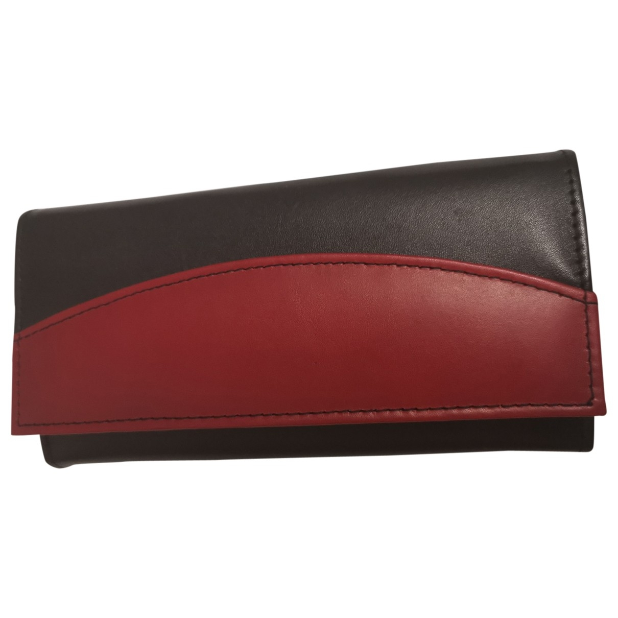 Non Signé / Unsigned \N Black Leather wallet for Women \N