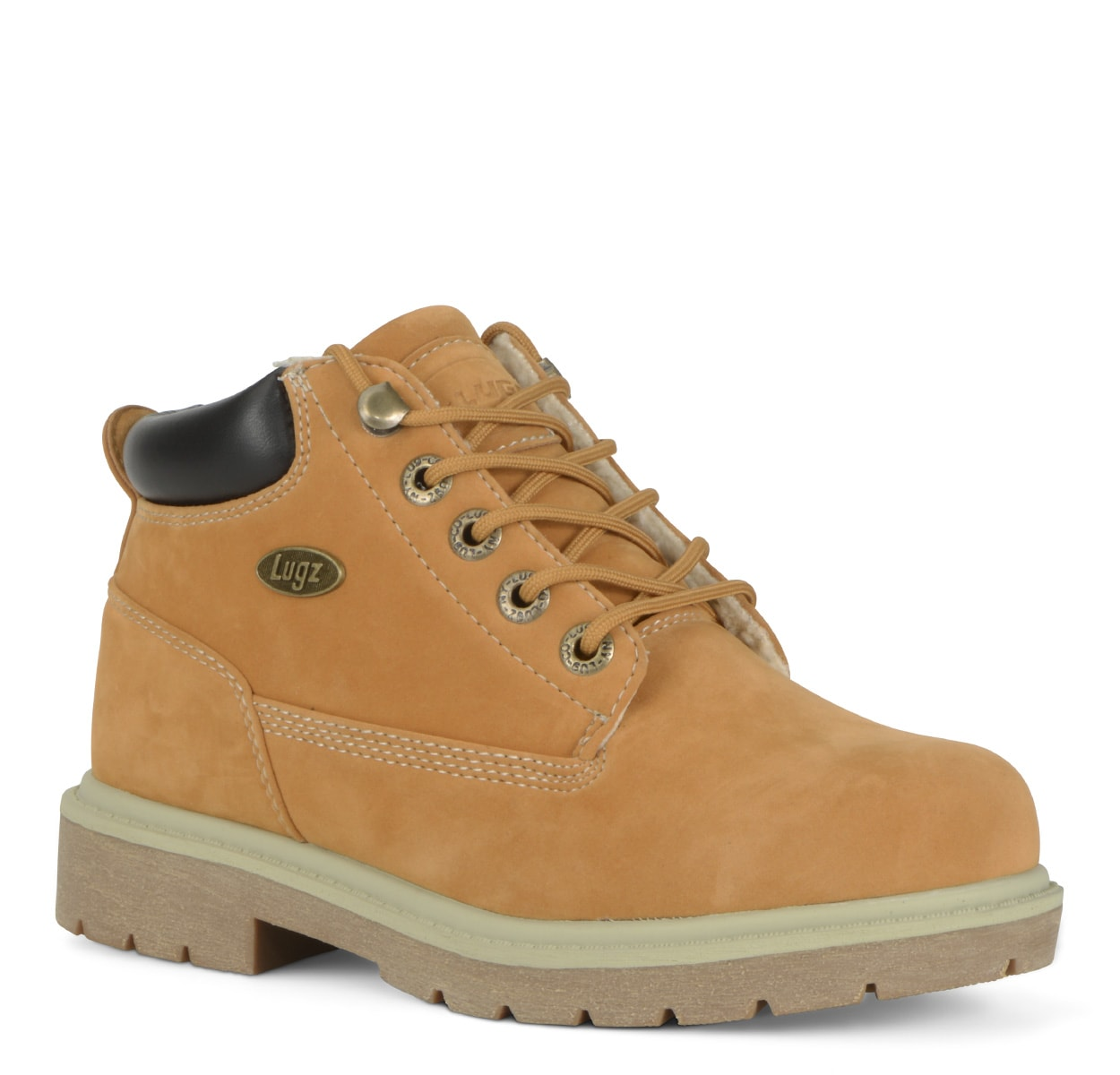 Women's Drifter Fleece Lx Chukka Boot (Choose Your Color: GOLDEN WHEAT/CREAM/BARK, Choose Your Size: 6.0)