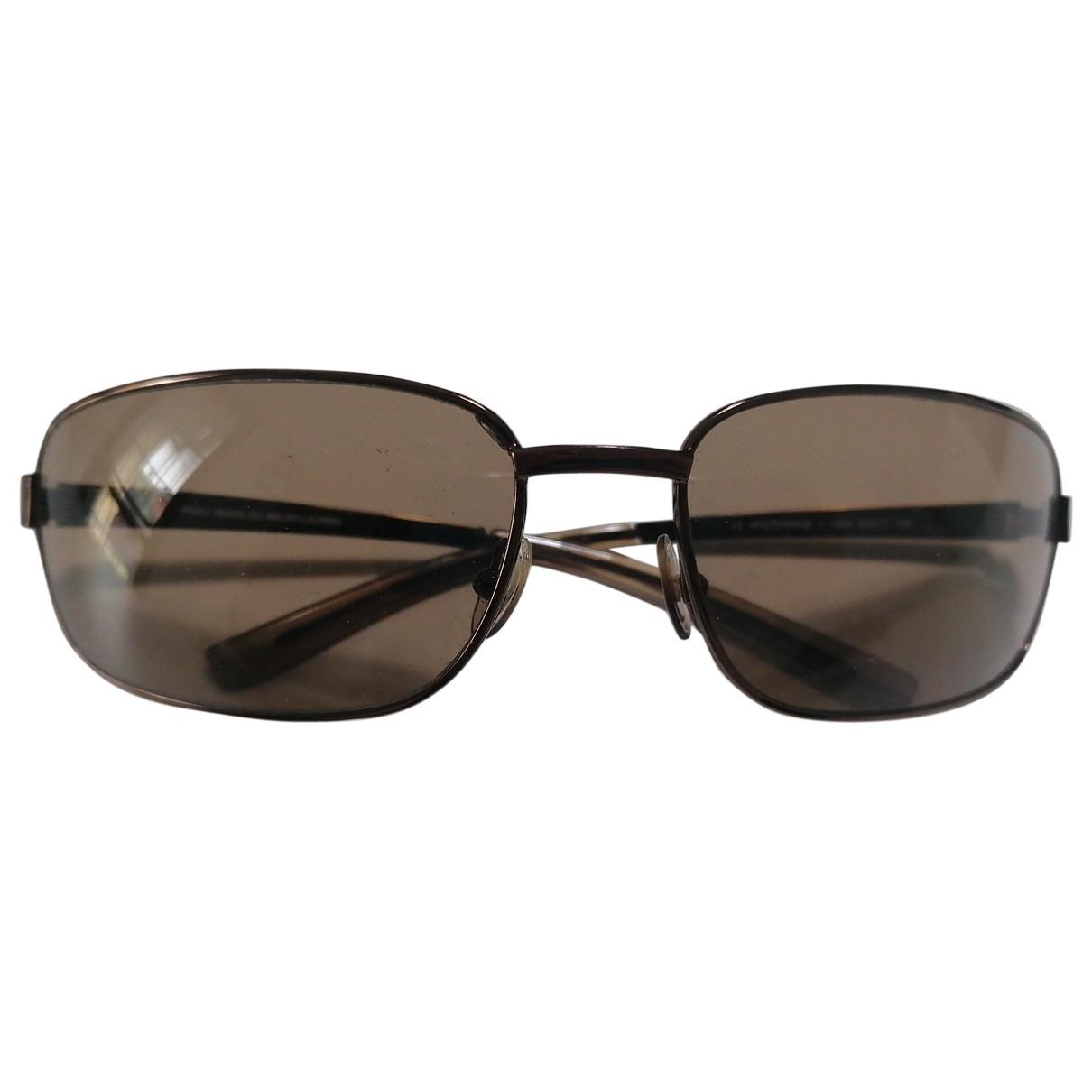 Polo Ralph Lauren \N Brown Metal Sunglasses for Men \N