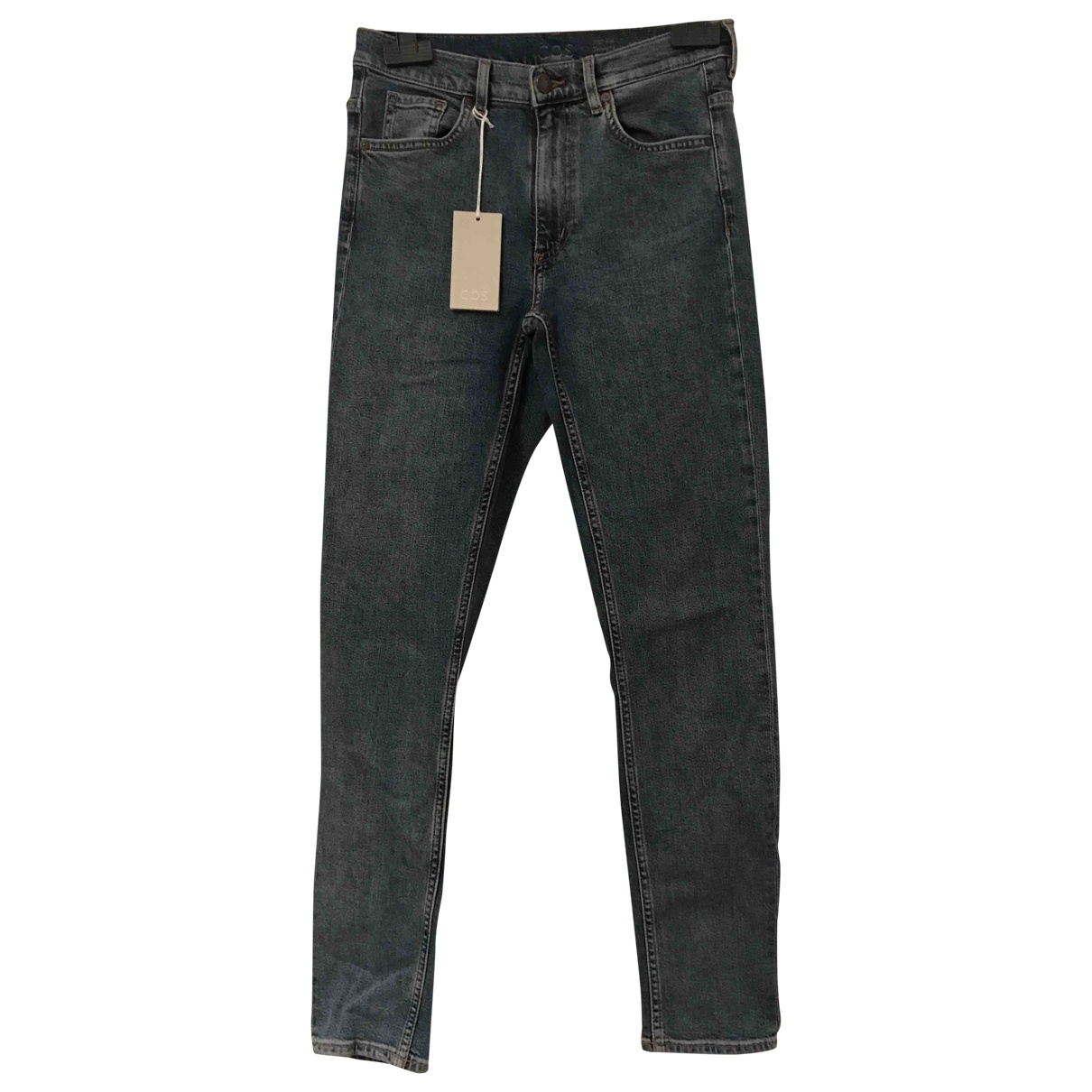Cos \N Blue Denim - Jeans Jeans for Women 27 US