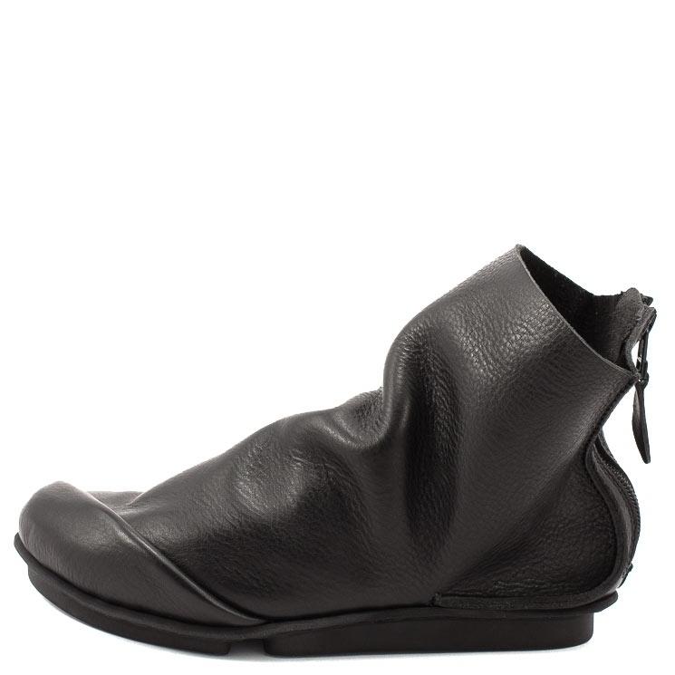 Trippen, Ploy m Penna Men's Bootees, black Größe 42