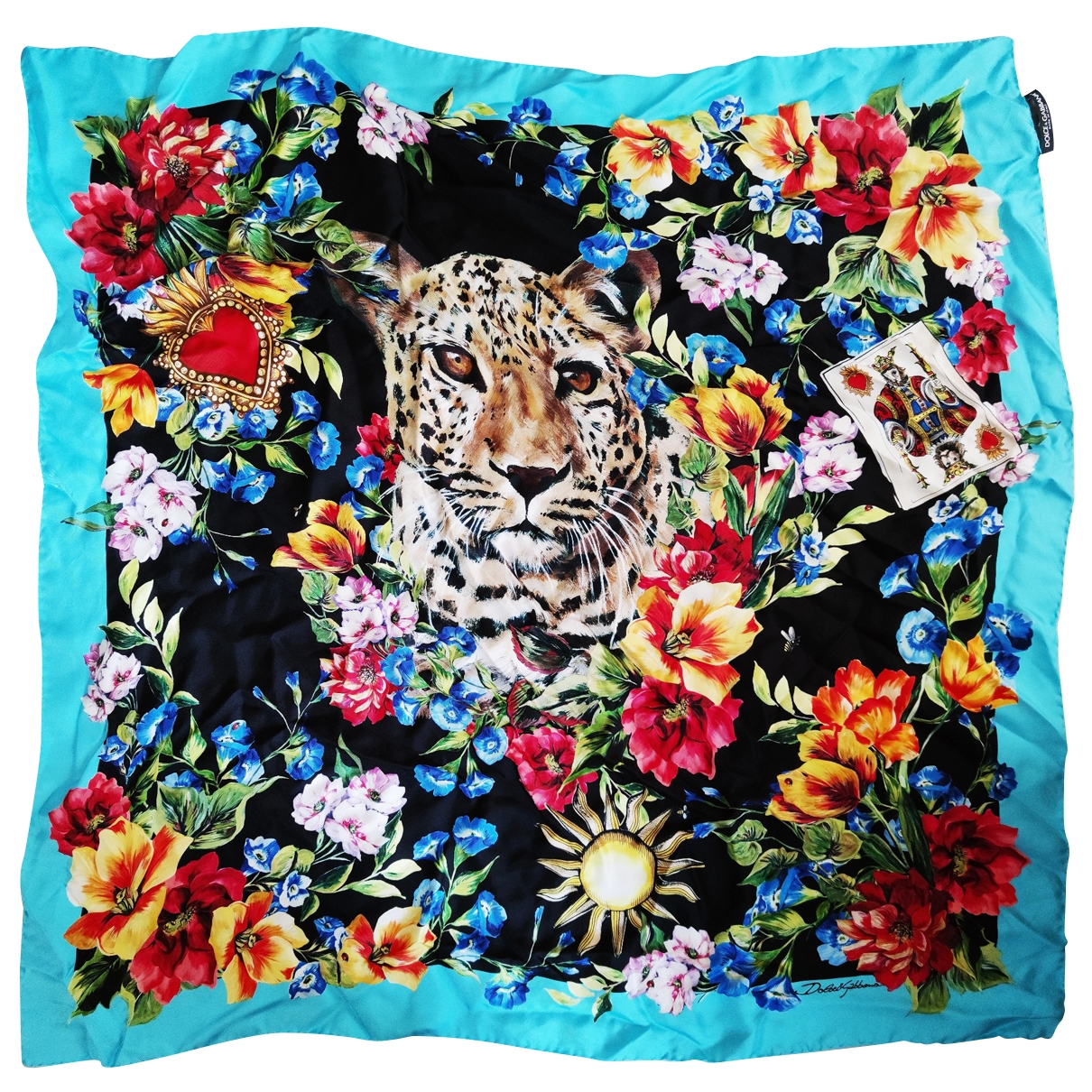 Dolce & Gabbana \N Multicolour Silk Silk handkerchief for Women \N