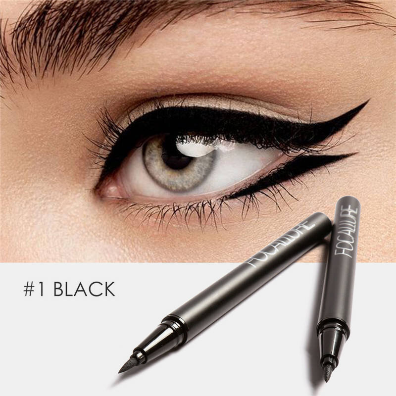 Professional Liquid Eyeliner Pen Long Lasting Waterproof Sweat-Proof No-Fade Eye Makeup