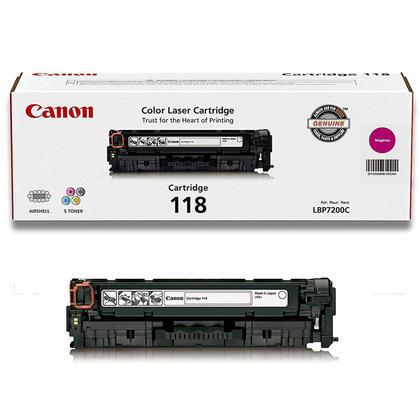 Canon 118 2660B001AA cartouche de toner original magenta