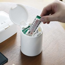 1pc Mini Storage Box With Lid