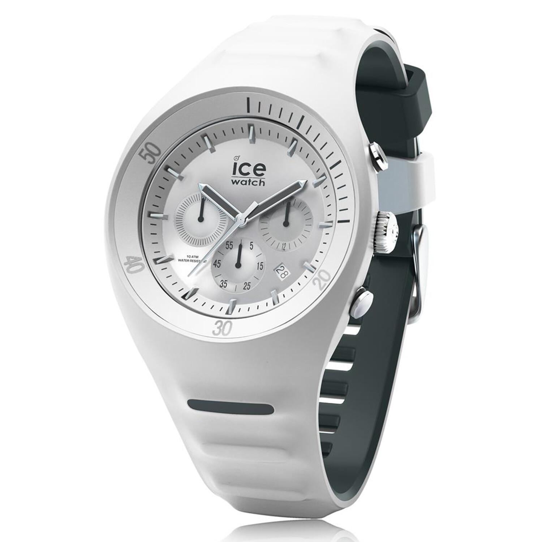 Ice-Watch Men's P. Leclercq 014943 White Silicone Quartz Fashion Watch