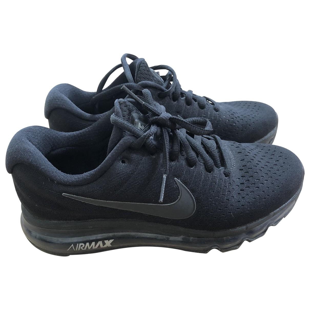 Nike Air Max  Black Trainers for Women 37.5 EU