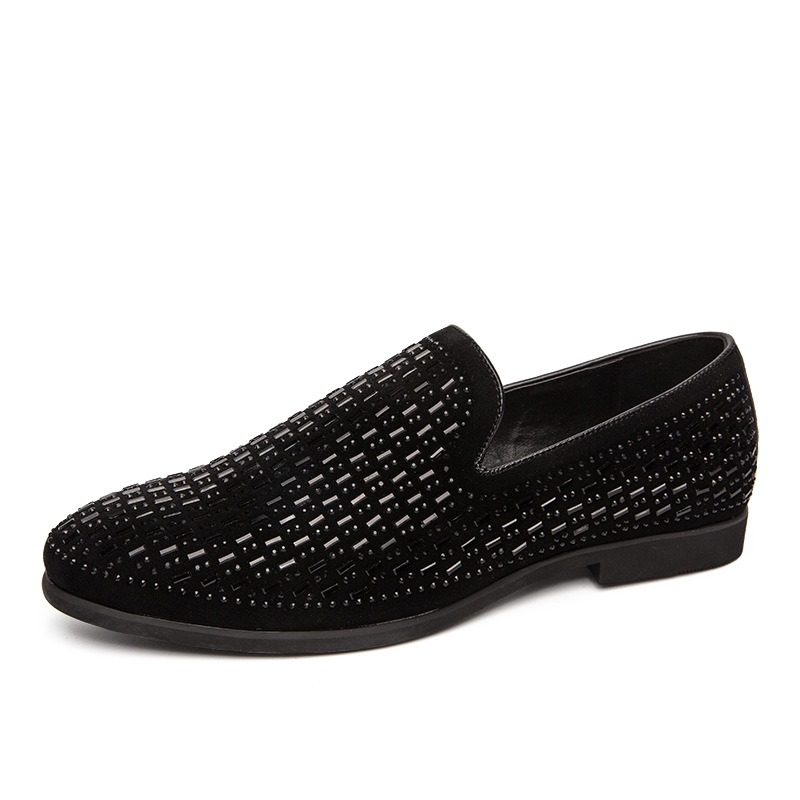 Ericdress Low-Cut Upper Slip-On Round Toe Men's Oxfords