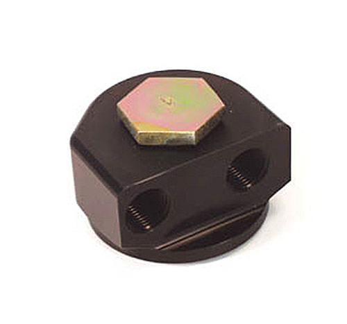Canton Racing Ford/Mopar 90 Degree Rotating Remote Filter Adapter