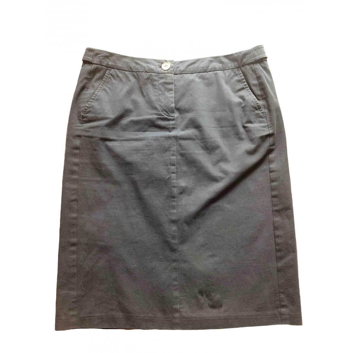 Max Mara Weekend \N Blue Cotton skirt for Women 42 IT