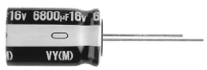 Nichicon 47μF Electrolytic Capacitor 63V dc, Through Hole - UVY1J470MED (25)