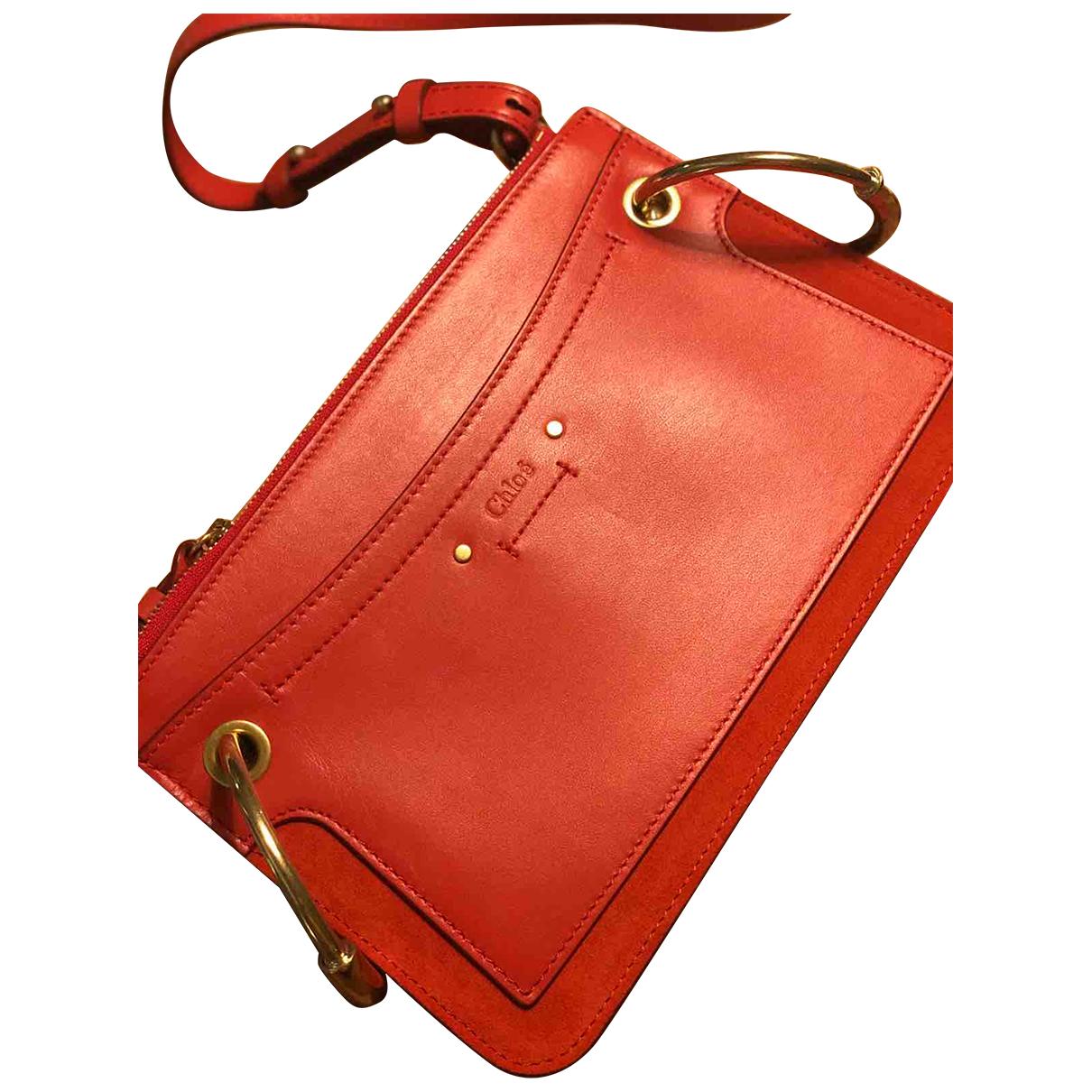 Chloé Roy Red Leather handbag for Women \N