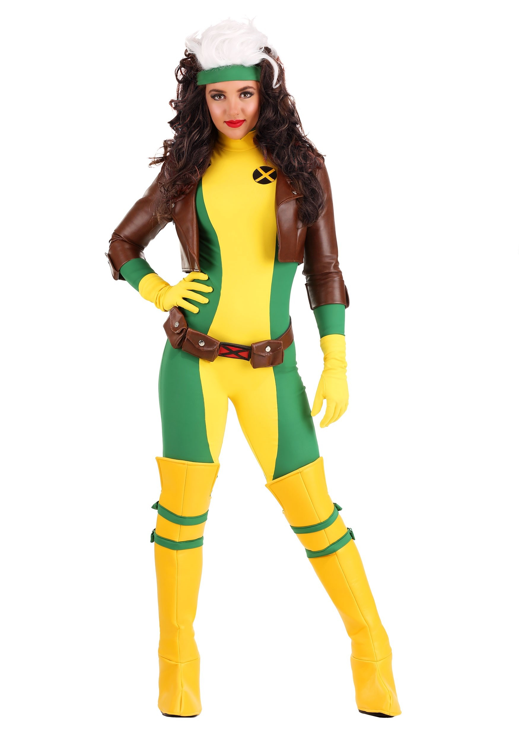 Women's X-Men Rogue Premium Costume